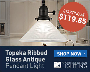 Topeka Pendant Light - ArchitectDesignLighting.com