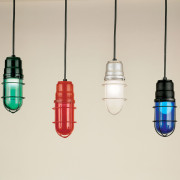 Turning gloomy concrete jungles into fun illuminated spaces is quick and easy - just add boat dock pendant lights!