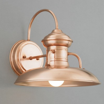 Copper Prairie Barn Wall Light